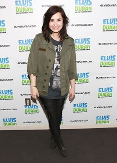 Demi's Different StylesWe love casual Demi! Photo: Getty Images