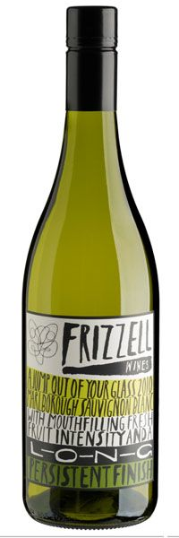 Frizzell wine. Cute. For all our wine loving packaging peeps. PD