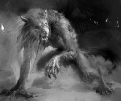 worldofdarkness-eyecandy - Posts tagged Werewolf the Apocalypse Real Werewolf, Werewolf Art, Skyrim Werewolf, Werewolf Vs Vampire, Mythological Creatures, Fantasy Creatures, Mythical Creatures, Arte Horror, Horror Art