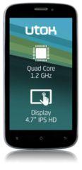 Utok 470Q dual sim softershop.ro and softershop.myshopify.com Dual Sim, Sims, Phones