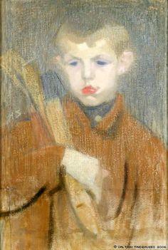 Helene Schjerfbeck – Finnish) - el leñador / the woodcutter Helene Schjerfbeck, Helsinki, Jr Art, Paintings I Love, Oil Paintings, Girl Reading, Old Master, Gravure, Sculpture