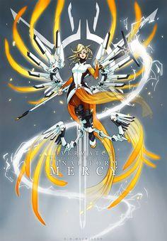 ArtStation - Final Form Goddess: Mercy, EH Macmillan