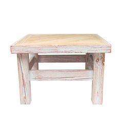 Stolik kawowy 60x60, drewno bielone