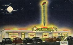 The Green Frog Drive-In Restaurant, Waycross, Georgia