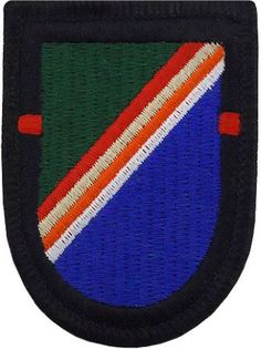 1st Battalion - 75th Ranger Regiment Beret Flash