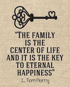 The family is the center of life...  #inspiration #motivation #wisdom #quote #quotes #life