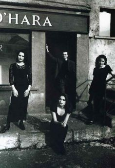 The Corrs (L-R: Sharon, Caroline, Jim and Andrea), by Paul Gaster, Ca.1995.
