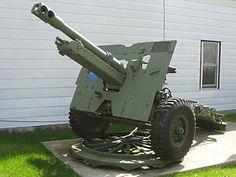 British ordnance 25 pounder gun