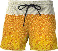 Mens Summer Anime Seven Dragon Beads Magic boy Print Beach Pants Shorts