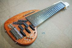 Conbat Guitars, 15 string Guitar