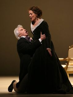 Dmitri Hvorostovsky, Silver-Maned Baritone From Siberia, Dies at 55 - The New York Times Renee Fleming, Theatre Reviews, Opera Singers, Dance Music, Ny Times, Fashion Models, Sexy, People, Collection