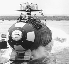USS Dace SSN 607 was a Thresher Class nuclear attack submarine. The Thresher class had the bullet shaped hull, single screw, and fairwater planes.