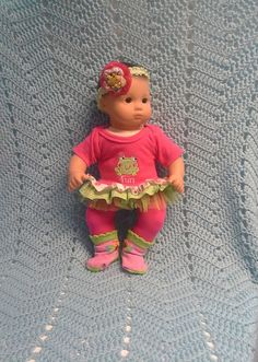 AMERICAN GIRL Bitty Baby Clothes Fun Froggie 15 by TheDollyDama