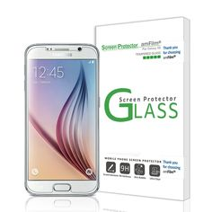 Galaxy S6 Screen Protector Tempered Glass (Front) and PET (Back) Screen Protecto #amFilm