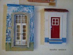 miniaturas de portas portuguesas www.facebook.com/ideiasoltasminiaturas