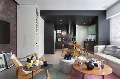 Apartamento Contemporâneo no Rio de Janeiro - confiram mais no Blog Casa Bellissimo