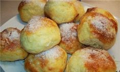 Easy-Made Cottage Cheese Buns Recipe For Breakfast Cheese Buns, Cheese Scones, Cheese Biscuits, Russian Desserts, Russian Recipes, Breakfast Recipes, Dessert Recipes, Czech Recipes, Sweet Pastries
