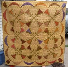 fall quilts images | ... it is the fall quilt from the new book i love this quilt i was pleased