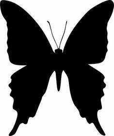 24 Best Solid Black Butterfly Tattoo images in 2017 ... - photo#25