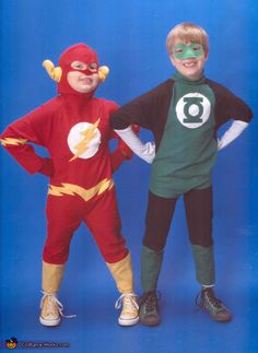 The Flash and Green Lantern - 2012 Halloween Costume Contest