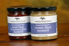 #bitethis They're baaack! Terrapin Ridge Farms is bringing these two mustards & their bite back!