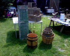 treasures for sale at Smithfield Barn