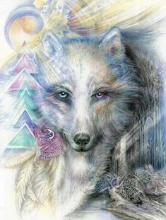 Shop for wolf art from the world's greatest living artists. All wolf artwork ships within 48 hours and includes a money-back guarantee. Choose your favorite wolf designs and purchase them as wall art, home decor, phone cases, tote bags, and more! Fantasy Wolf, Fantasy Art, Wolf Wallpaper, Wolf Love, Wolf Pictures, Beautiful Wolves, Wolf Spirit, Wolf Tattoos, Animal Totems