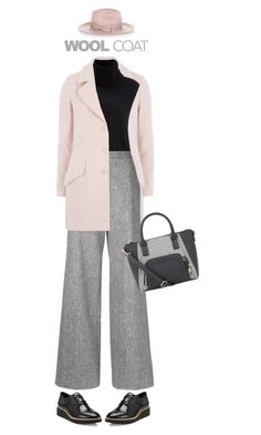 """Wool Coat"" by polylana ❤ liked on Polyvore featuring Luxe, 3.1 Phillip Lim, ADAM, Rebecca Minkoff, Accessorize and woolcoat"