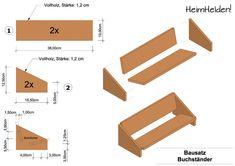 Bauanleitung Buchständer