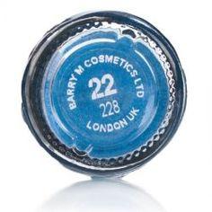 Barry M Dazzle Dust Electric Blue 22