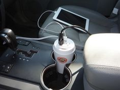 Power Cup USB & AC Car Charger by Original Power