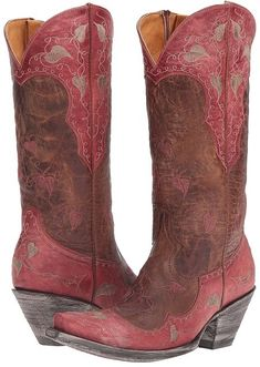 Old Gringo - Hearth Leaves Cowboy Boots. Cowboy boot fashions. I'm an affiliate marketer. When you click on a link or buy from the retailer, I earn a commission.