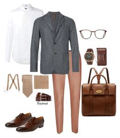 """""""Gents at work! Inspiring taste."""" by paraebrand on Polyvore featuring Topman, FAY, Eleventy, Saks Fifth Avenue, Michael Kors, Gucci, Levi's, Pierre Cardin, GlassesUSA and Mulberry"""