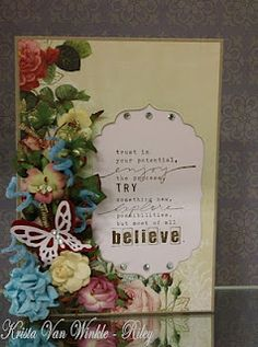 WE LOVE this card that IT Girl Krista made! One of our FAVS!!!
