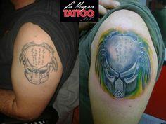 #cover #tattoo #predator #correction