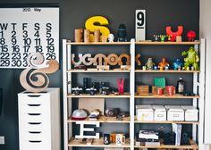 ugmonk hq 18 1024x733 Home Office de um Designer