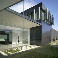 This funeral home in Alicante, Spain, is by Spanish studio Cor.