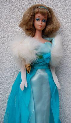 Vintage Barbie Side Part American Girl in Debutante Ball