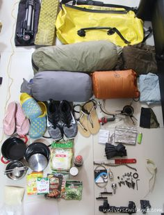 My Bicycle Touring Gear - Cycling Around The World