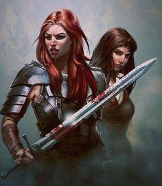 Ansel [Swordsisters by I-GUYJIN-I on deviantART]