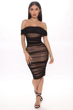 Ready And Ruched Mesh Midi Dress - Blue, Dresses | Fashion Nova Blue Midi Dress, Long Sleeve Midi Dress, White Maxi Dresses, Pretty Dresses, Dress Black, Tight Dresses, Fashion Nova Black Dress, Fashion Dresses, Curves Clothing