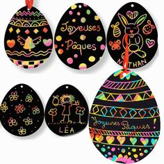 There are two watercolor techniques that can be used to create watercolor surprise Easter Egg art for kids using our FREE Easter Egg printable template. Invite children to paint Easter Egg art using a watercolor resist medium or the wet-on-wet watercolor Easter Arts And Crafts, Egg Crafts, Easter Crafts For Kids, Spring Crafts, Diy For Kids, Art D'oeuf, Boyfriend Crafts, Easter Activities, Egg Art