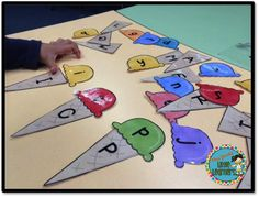 Miss Jacobs' Little Learners: Kindergarten Literacy Center Ideas Alphabet Activities, Literacy Activities, Teaching Resources, Literacy Stations, Literacy Centers, Writing Centers, Kindergarten Centers, Kindergarten Literacy, Alphabet Phonics