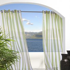 Oasis Indoor/Outdoor Curtain Panel