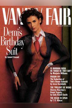 Demi Moore - Demi Moore's Birthday Suit - Vanity Fair