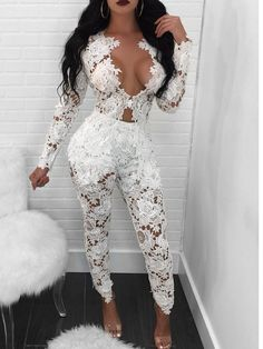 Shop Lace Crochet Open Front Blazer Pants Set right now, get great deals at Voguelily Club Outfits For Women, Mode Outfits, Suits For Women, Sexy Outfits, Sexy Dresses, Sexy Women, Fashion Dresses, Clothes For Women, Fashionable Outfits