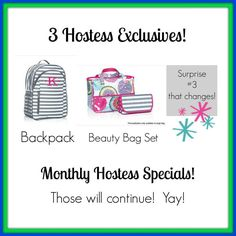 Thirty One LOVES our hostess!!! Great exclusive products, pop up exclusives, half price products, and the favorite FREE products!! Check out the spring summer 2015 catalog http://wwwmythirtyone.com/JenWillett