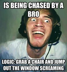 The best logic since running around like a headless chicken!