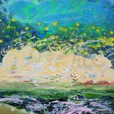 Seascape on planet Cactusia #4997.