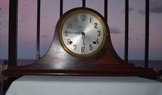 Antique Sessions Lyric No. 2 Mantel Shelf Clock Bim-Bam